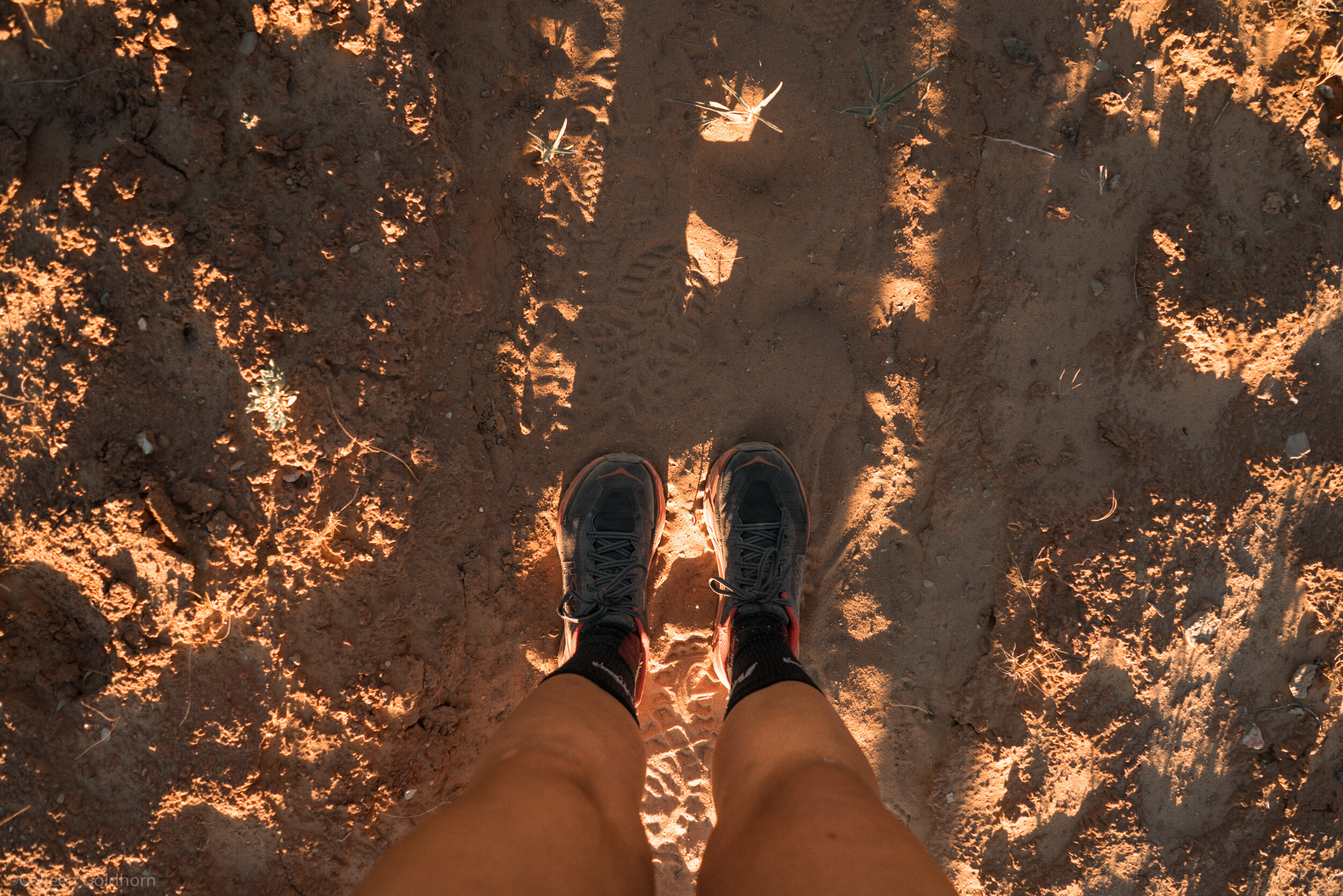 Taken during one of the multiple times we had to stop and empty sand out of our shoes…