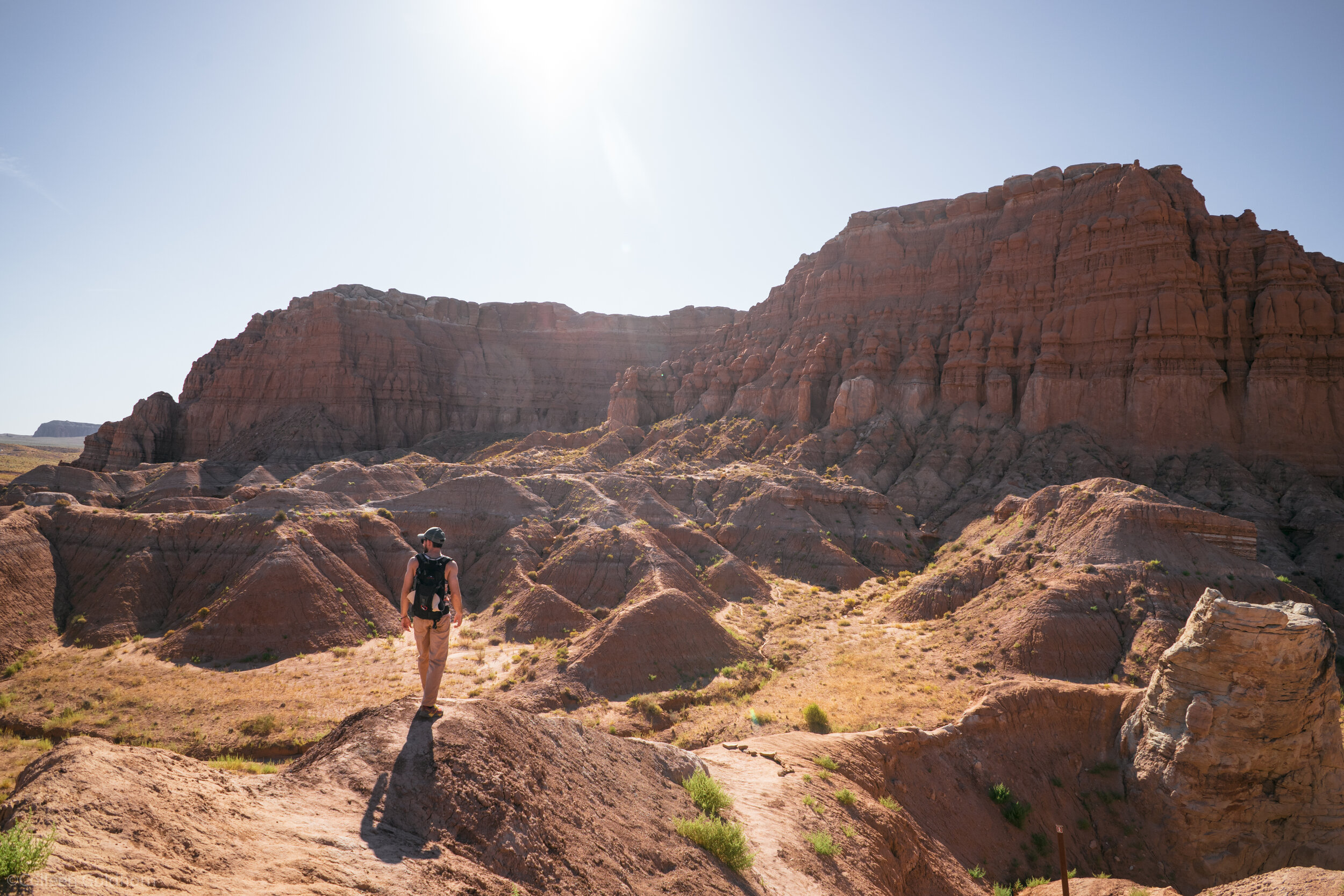Our next stop was halfway between Capitol Reef and Moab at a place called Goblin Valley State Park