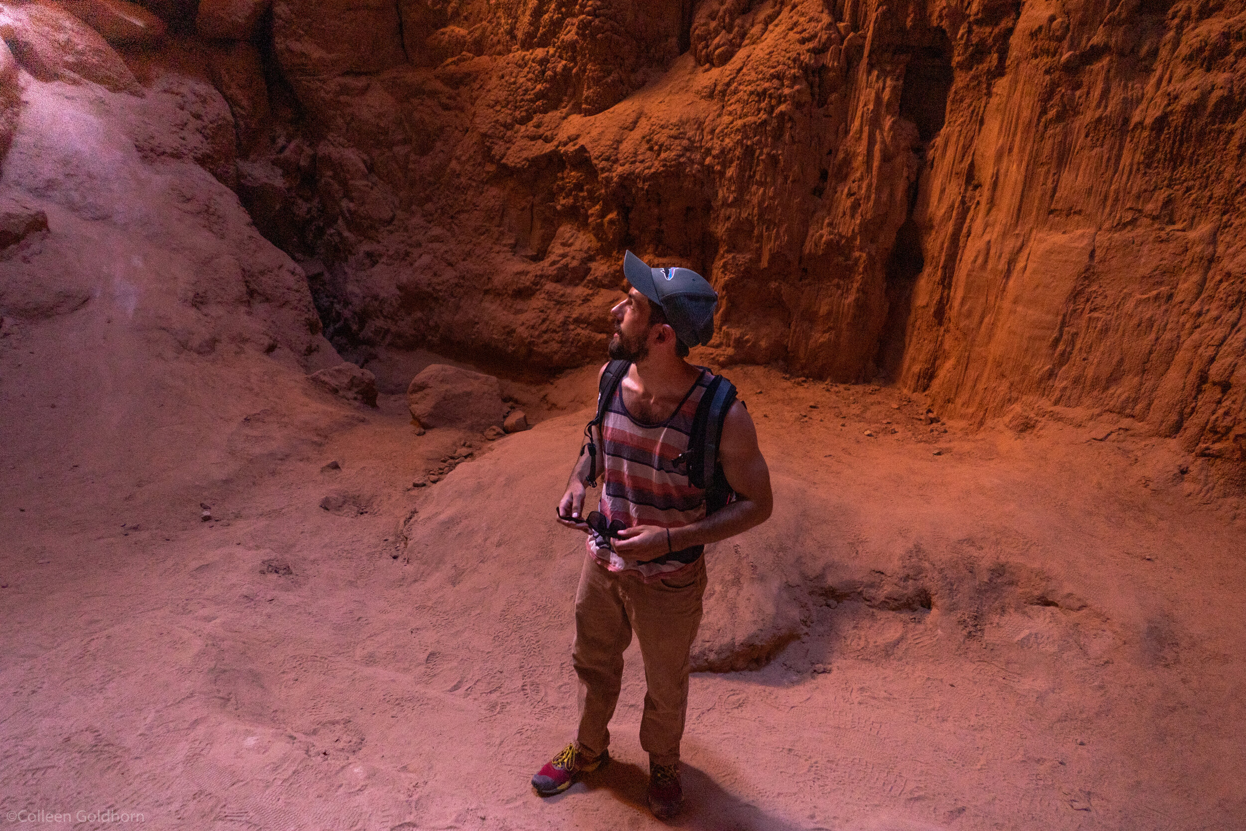 Which is a hidden cave inside a beautiful mesa.