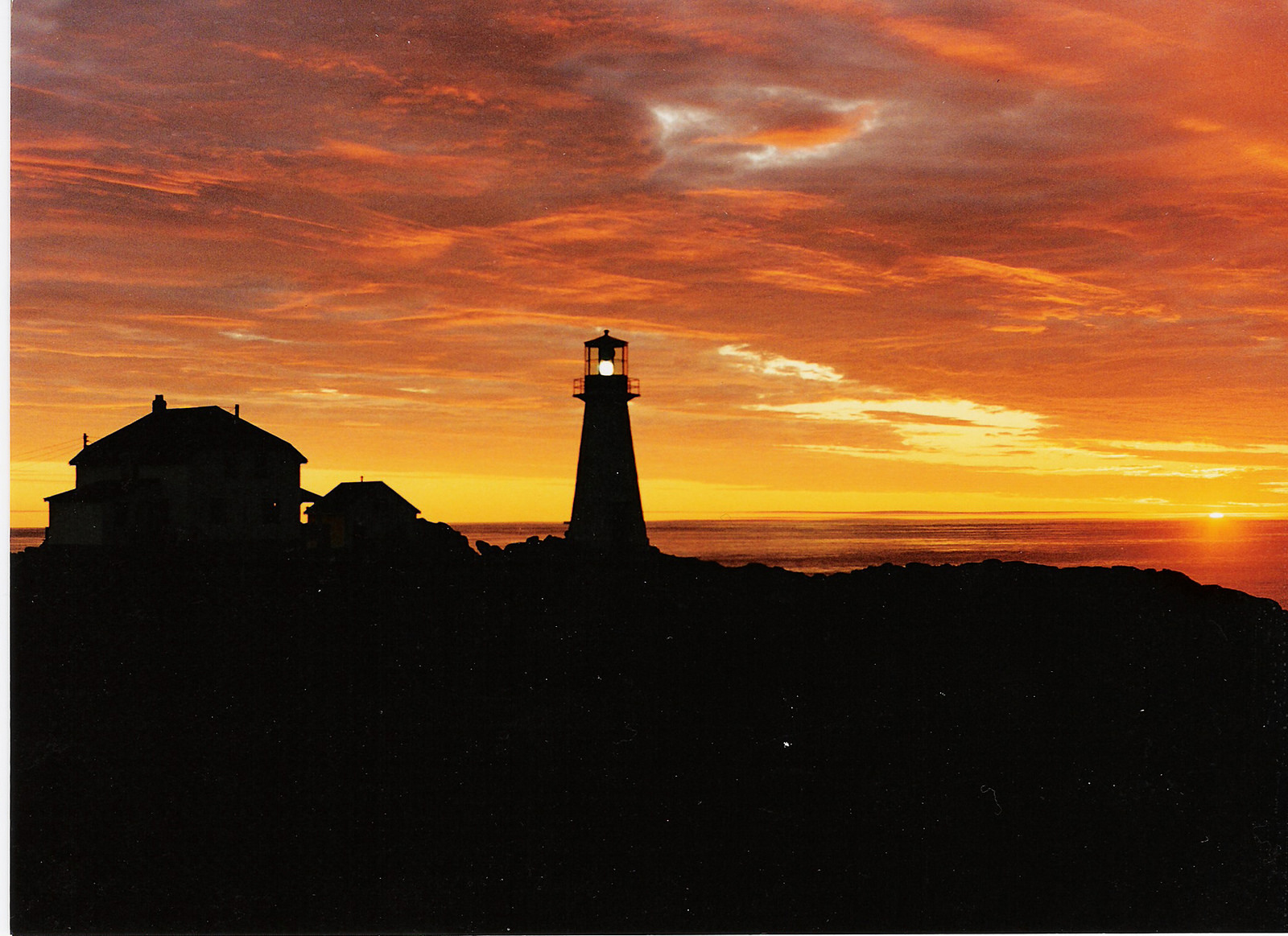 Quirpon Lighthouse Inn Sunrise