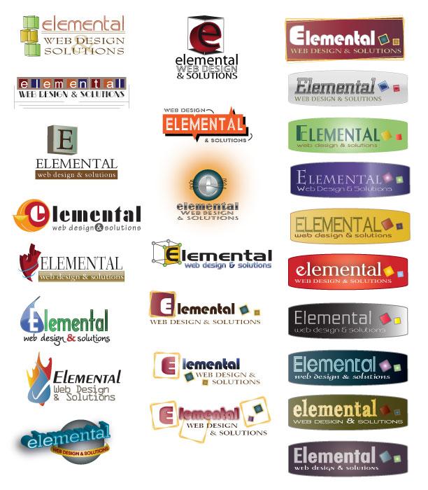 HUGE Suite of Logo Proofs for Elemental Web