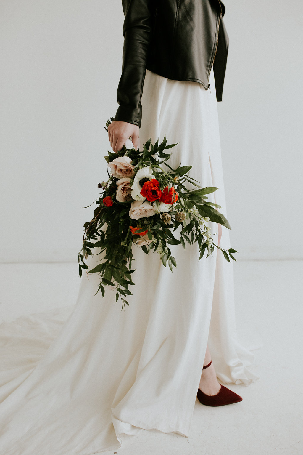 Modern Alternative Bride Bouquet by Studio Terrain