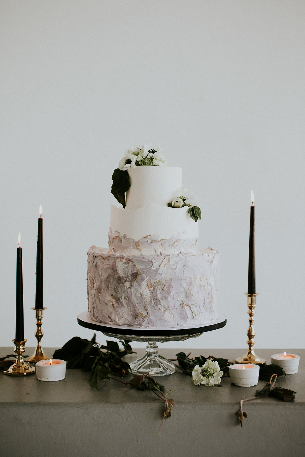 Marbled Ombre Cake by Amalia Bakery