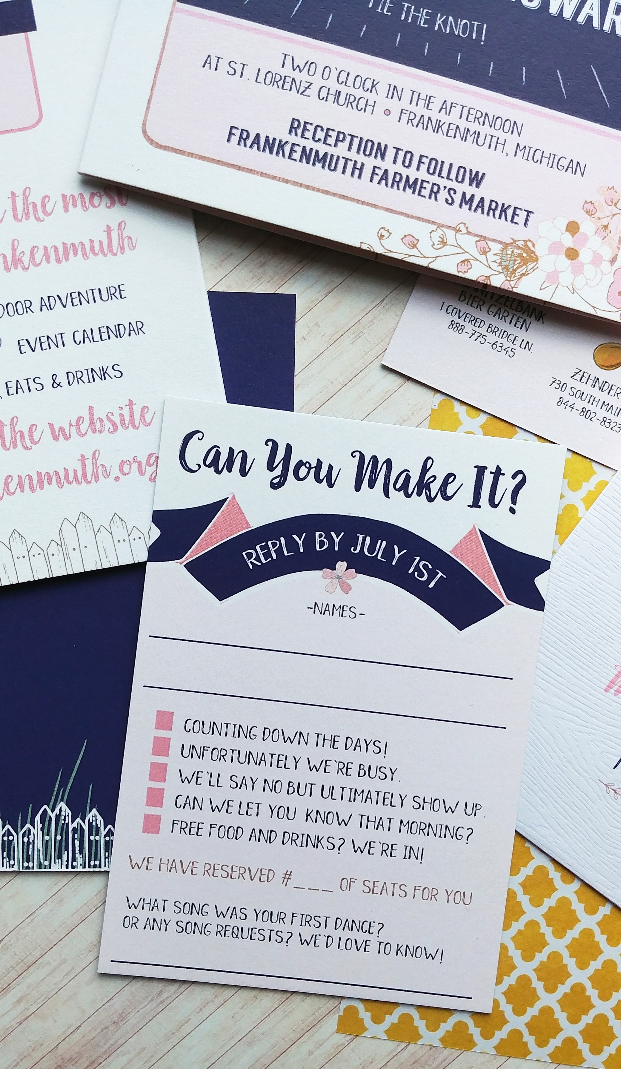 Navy & Peach Booklet Downtown Market Wedding Invitation Suite (5).jpg