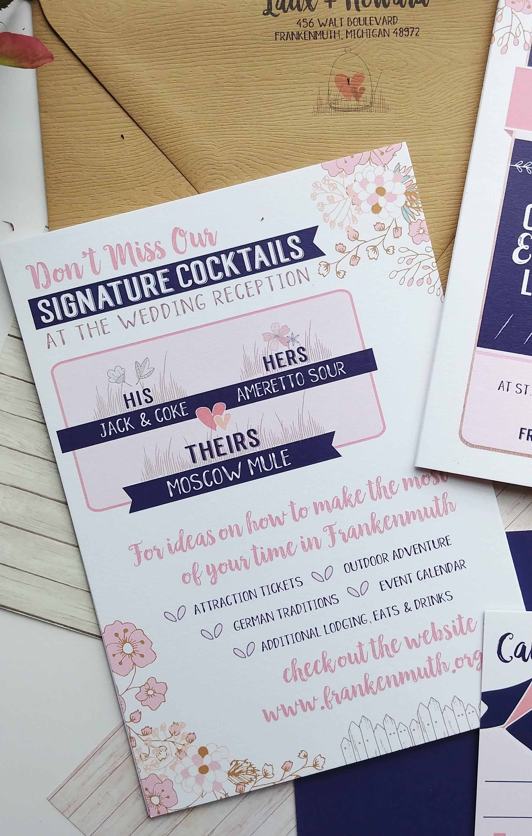 Navy & Peach Booklet Downtown Market Wedding Invitation Suite (6).jpg