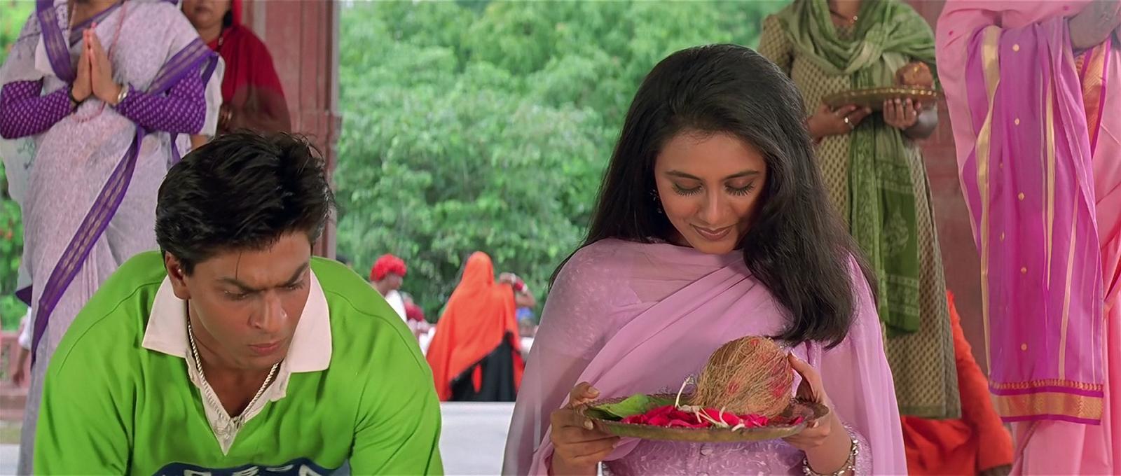 SRK and Rani Mukerji in KKHH
