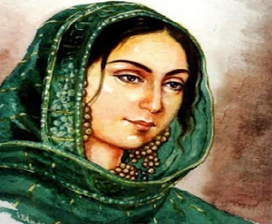 Begum Hazrat Mahal, painter unknown