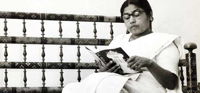 Sucheta Kripalani, source - The Times Of India Group
