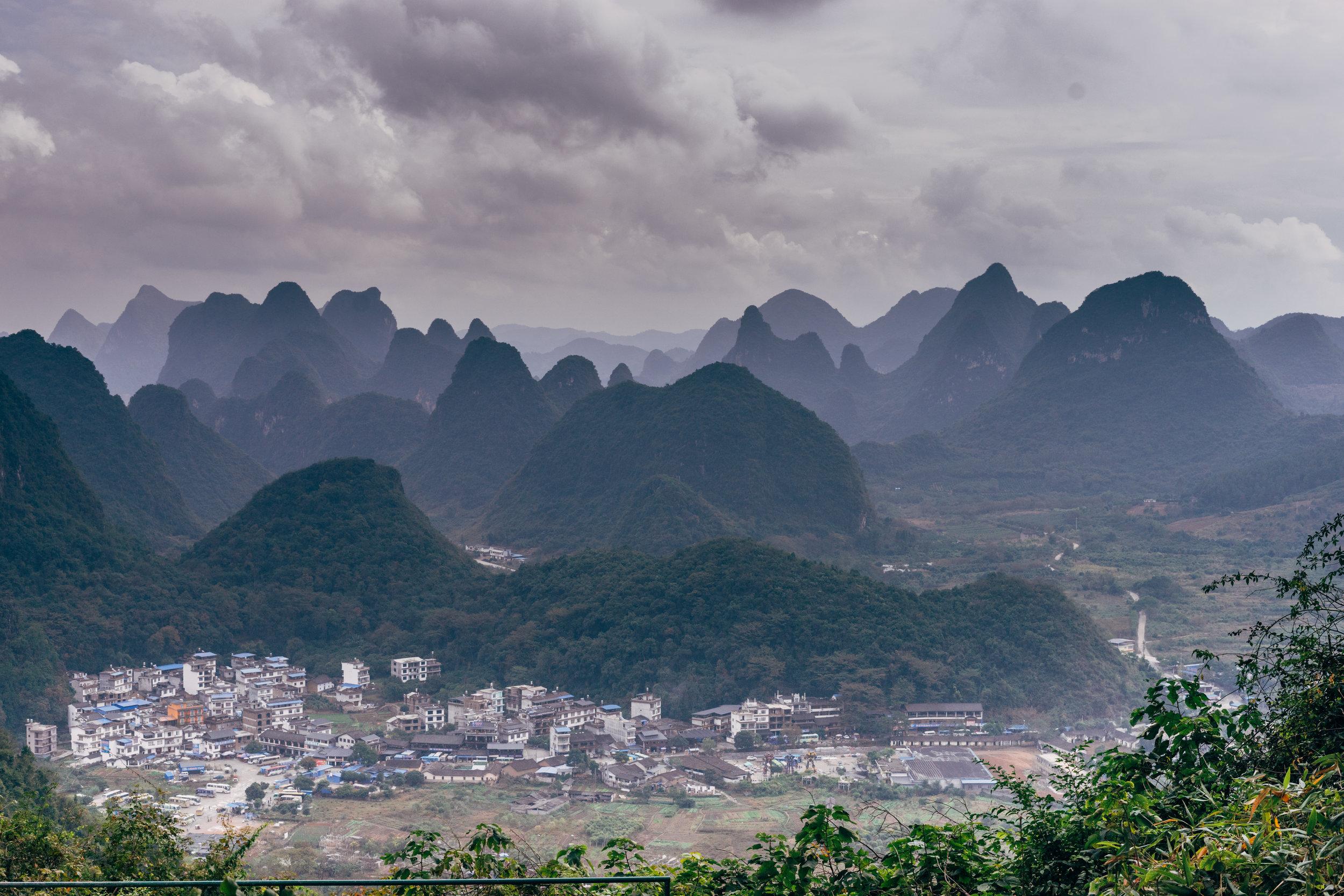 Moon Hill near Yangshuo, Guilin, China