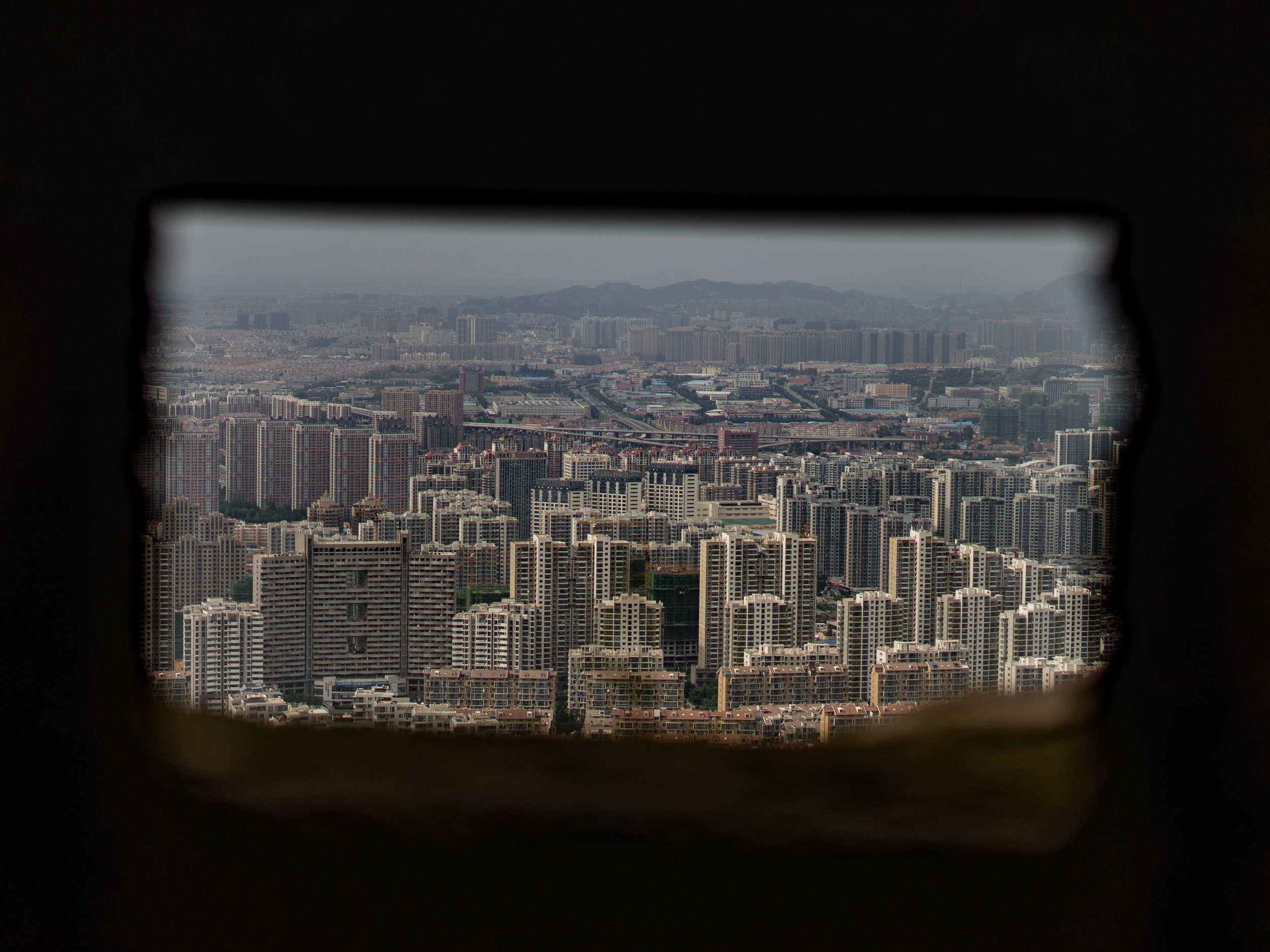 looking through to Qingdao, China