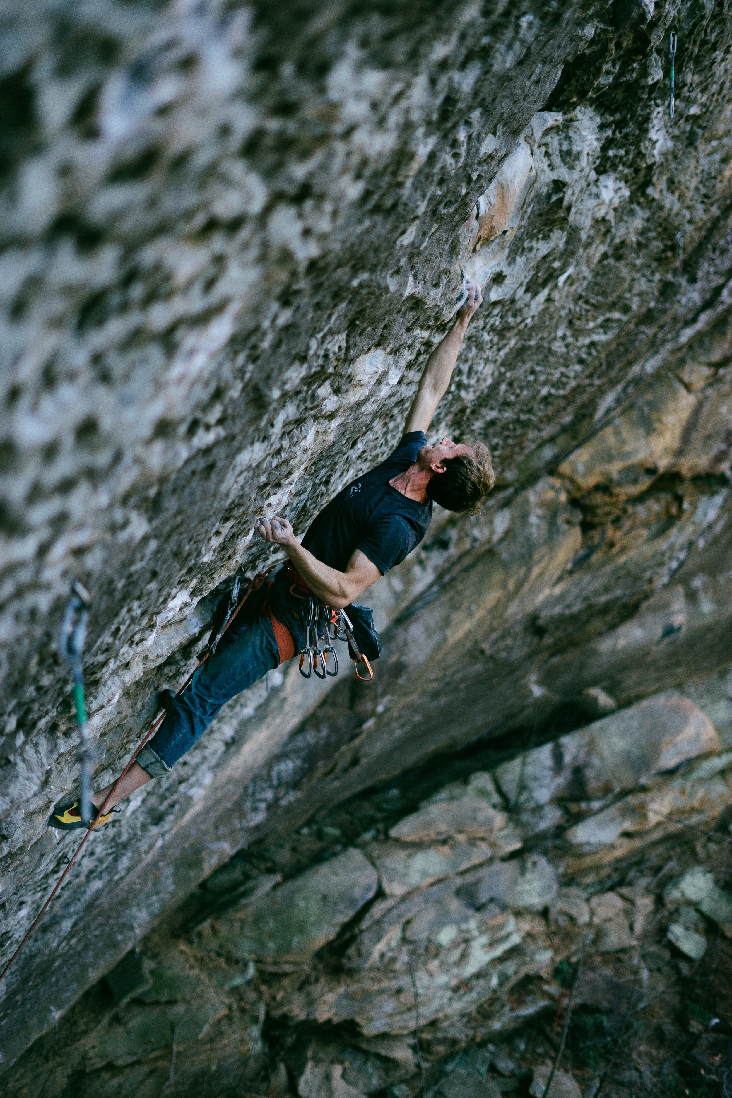 Seth Bently at the Red River Gorge, KY