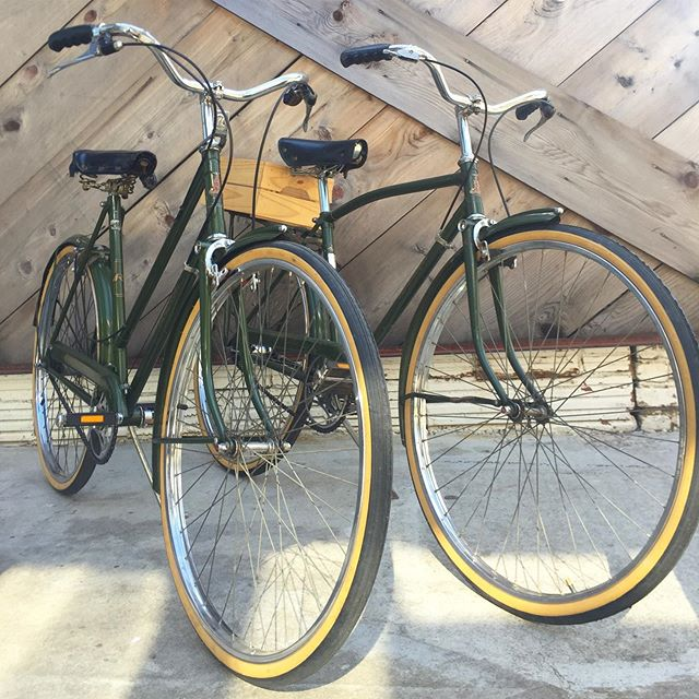 For sale: A couple of beautiful Raleigh English 3-speeds.  DM or call for more info. 4044085624