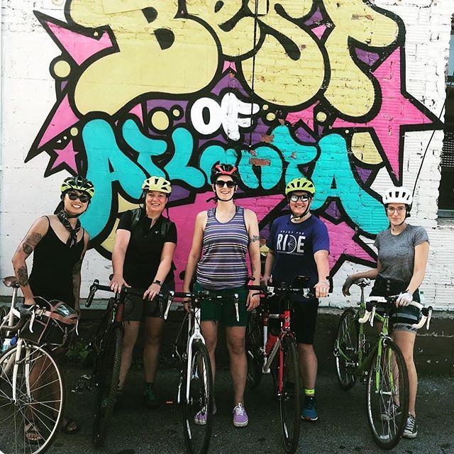 Posted @withrepost • @wtfbikexplorersatl WTF August Weekend Ride in the books ☕️🚲😎 #bestofatlanta