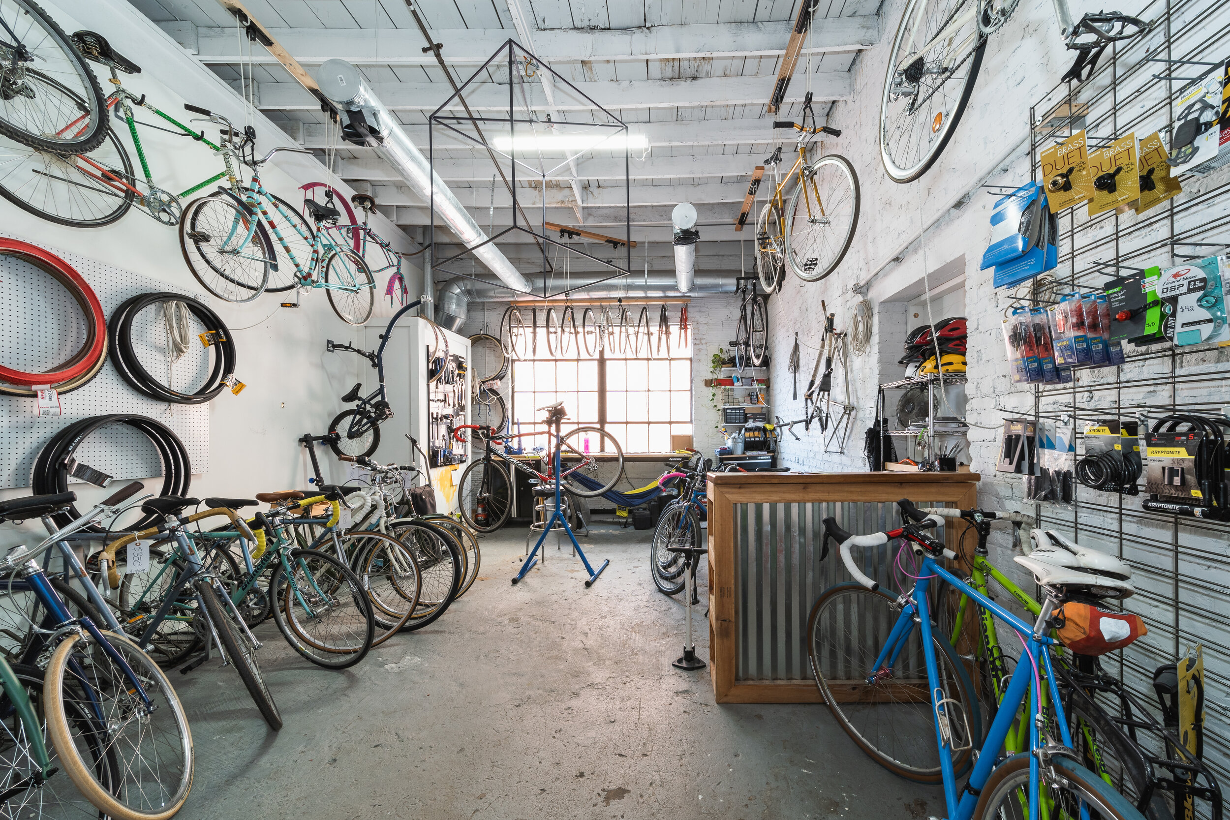 Sales - We buy and sell new and used bikes and bike parts.