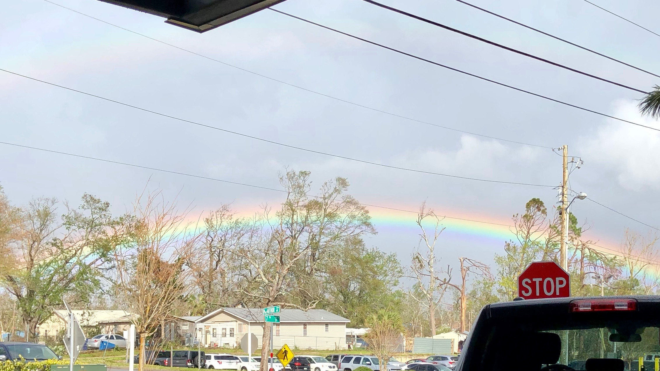 Caught a glimpse of God's reminder.