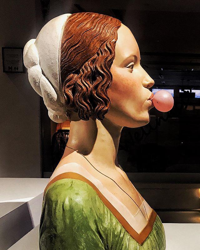 Sculpture by Gerald Más.  Amare Ibiza Hotel.  #amareibiza #ibiza #spain #sculpture #bubblegum #gerardmas