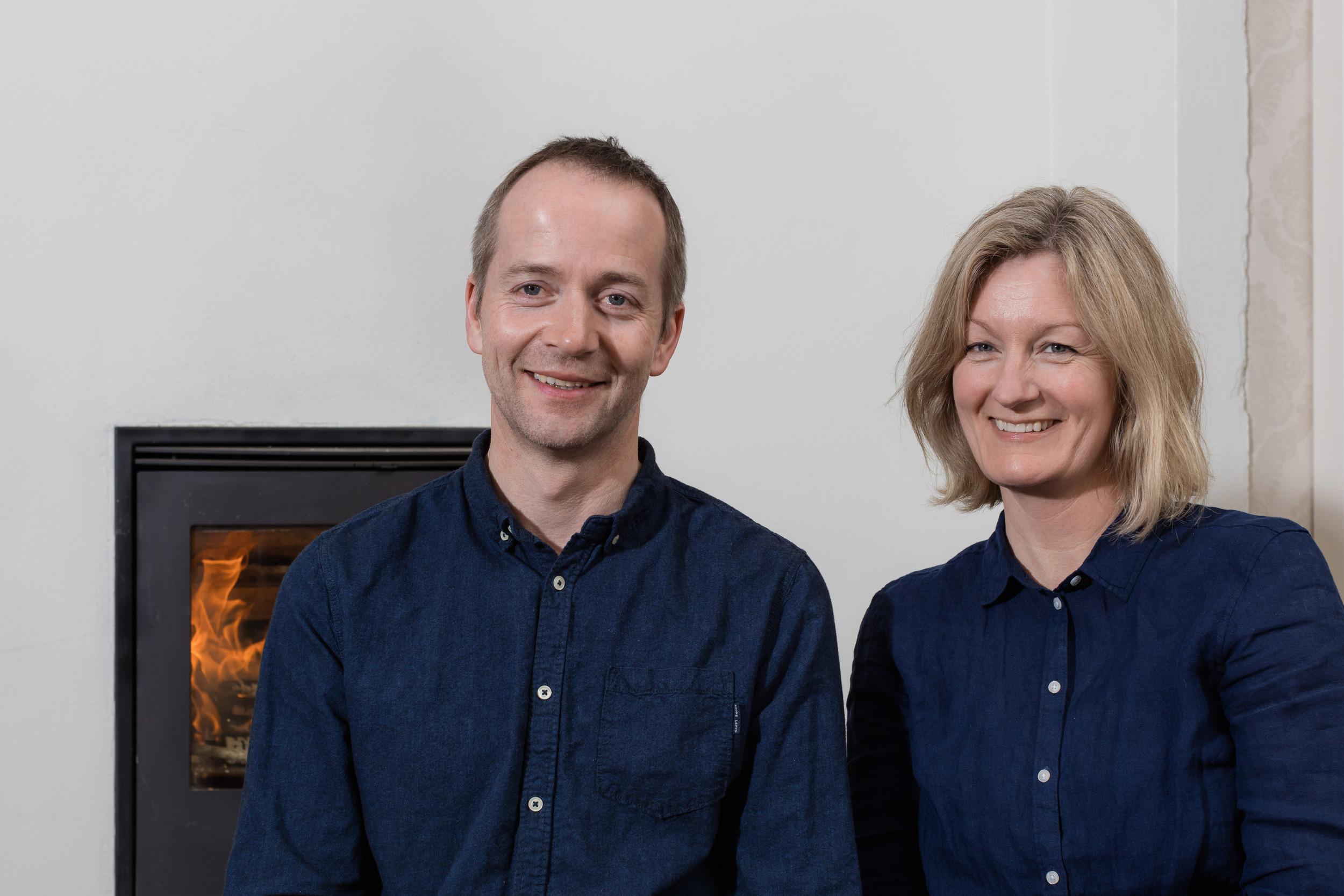 Det gode vertskap: Kristine og Frode tar deg godt i mot på Øyna.
