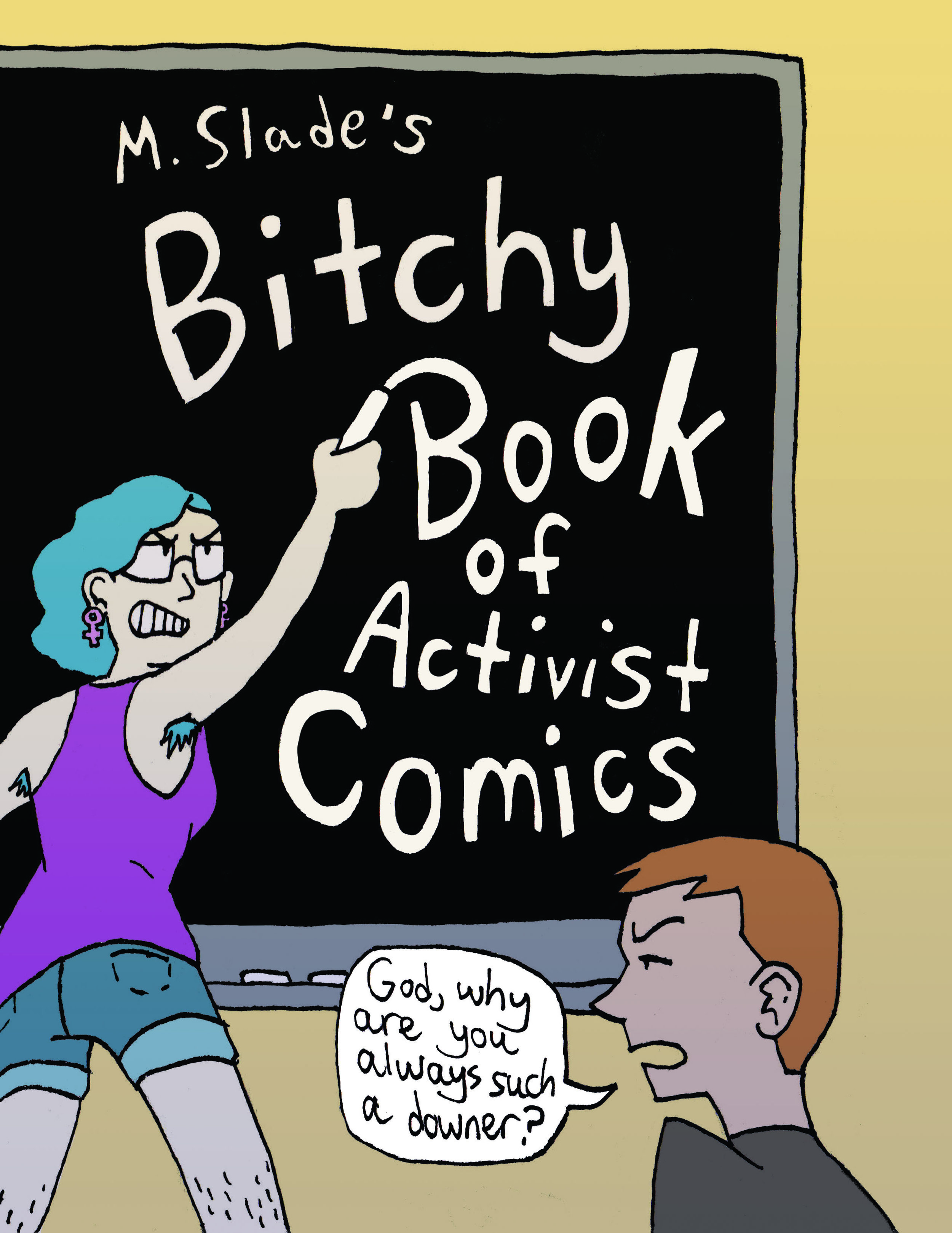 Bitchy Book Of Activist Comics - A zine I created for my senior project; this features artwork on a number of social justice topics I was thinking about at the time