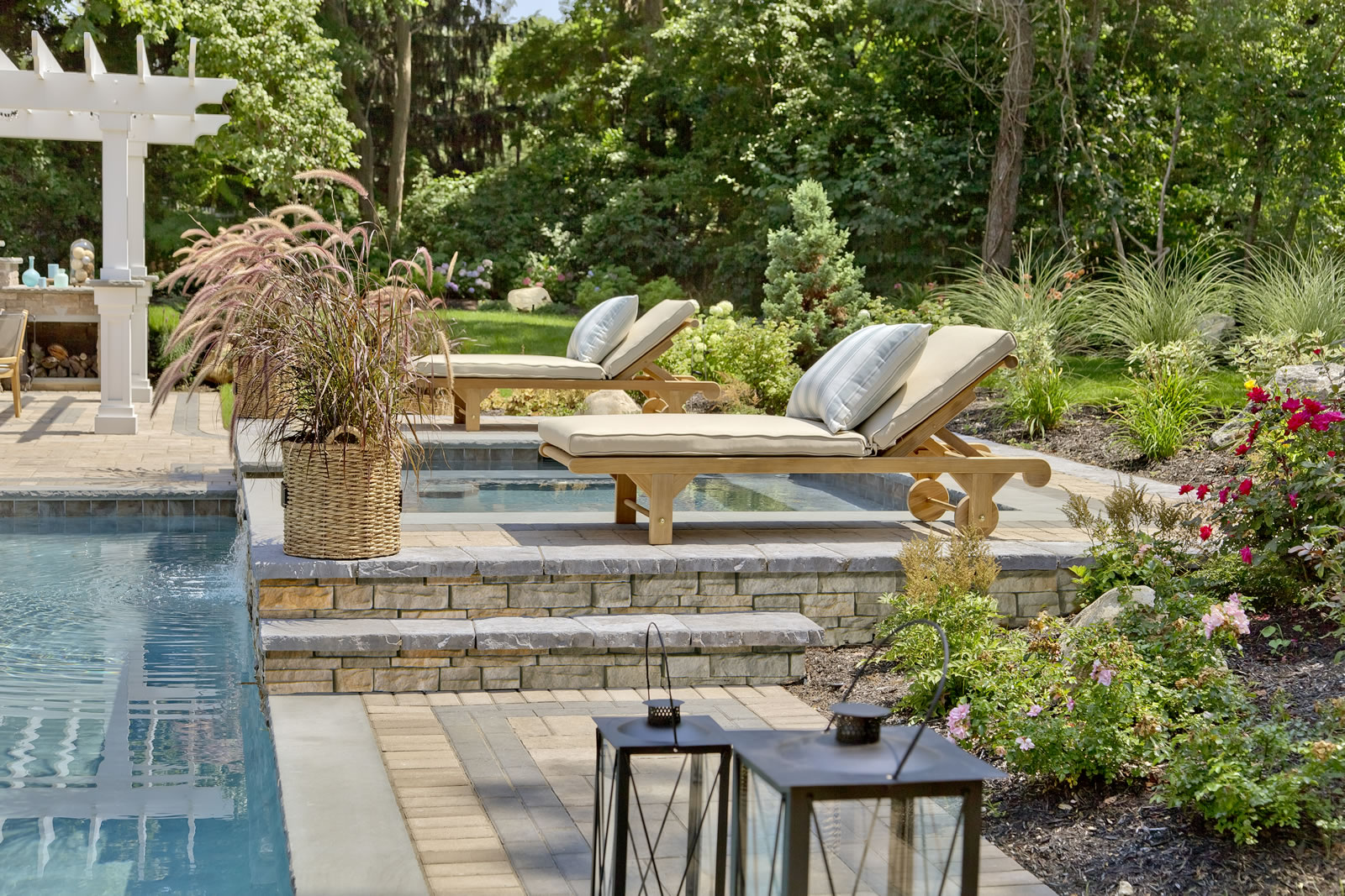 Patios with Swimming Pools in Riverhead, NY