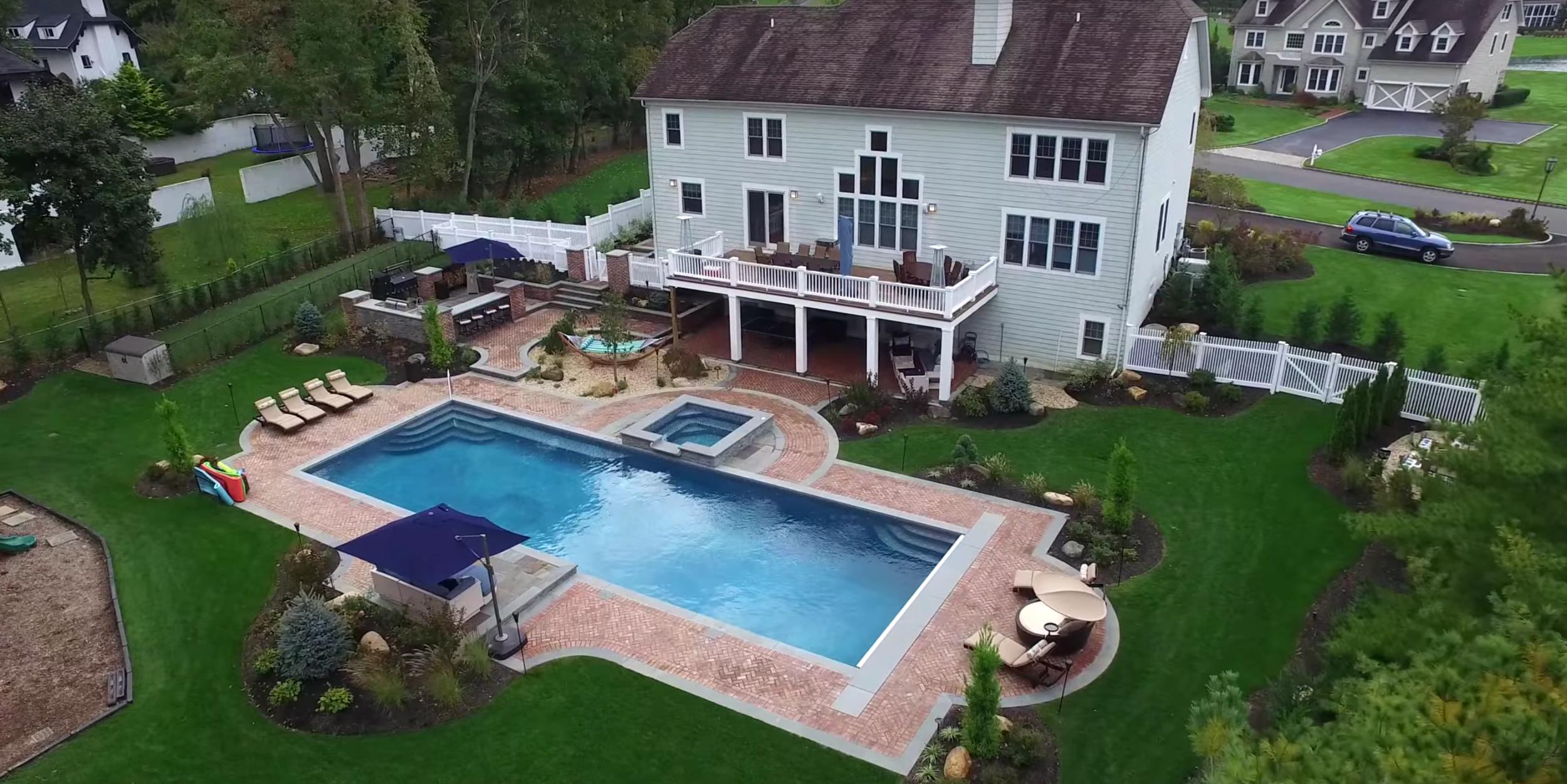 inground pools Huntington, NY