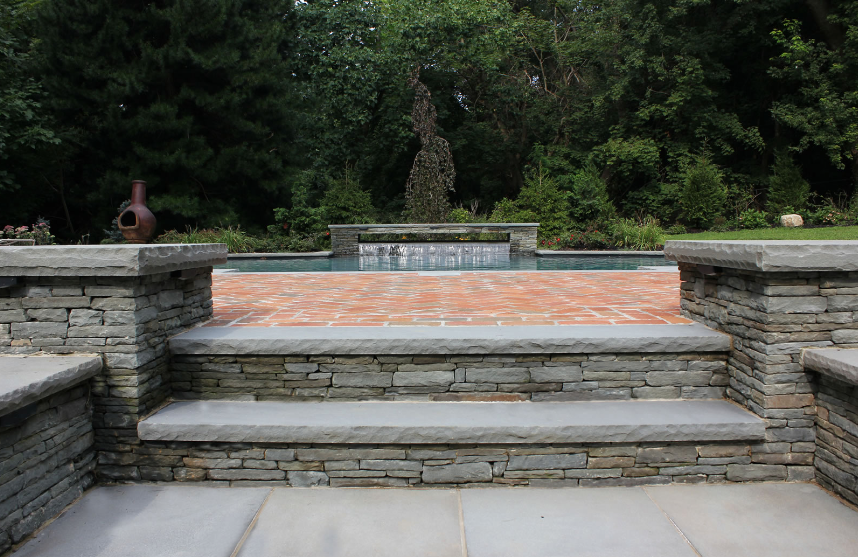Update Your Brookville, NY, Patio With Gorgeous Masonry Stairs