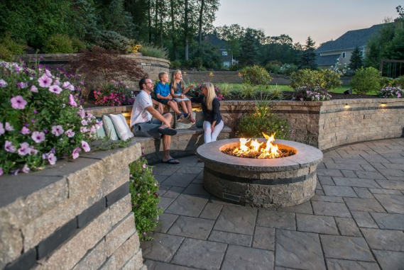 8 Perks of Adding a Stone Fire Pit to Your Landscape Design in Glen Cove, NY