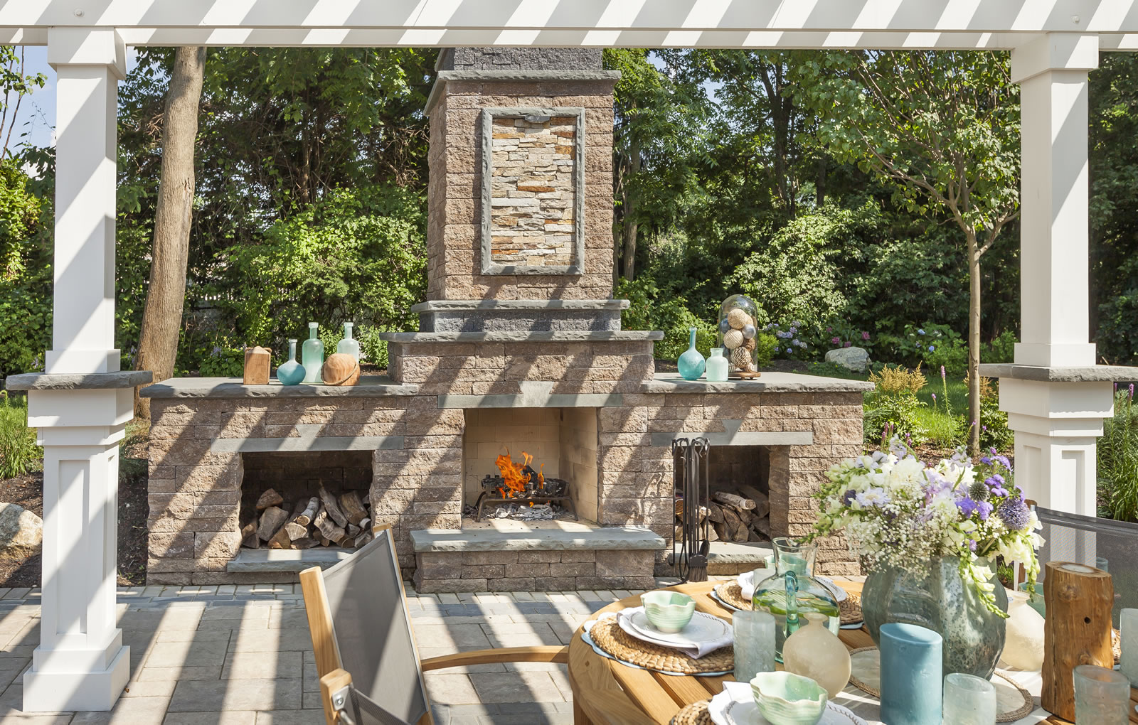 3 Masonry Ideas for Your Outdoor Fireplace in Westhampton, NY