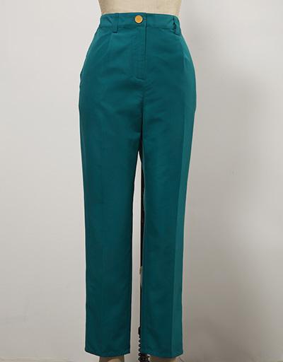 forest green women's golf pants