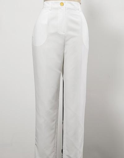 white women's golf pants