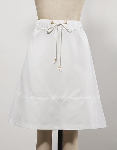 White Women's golf skirt