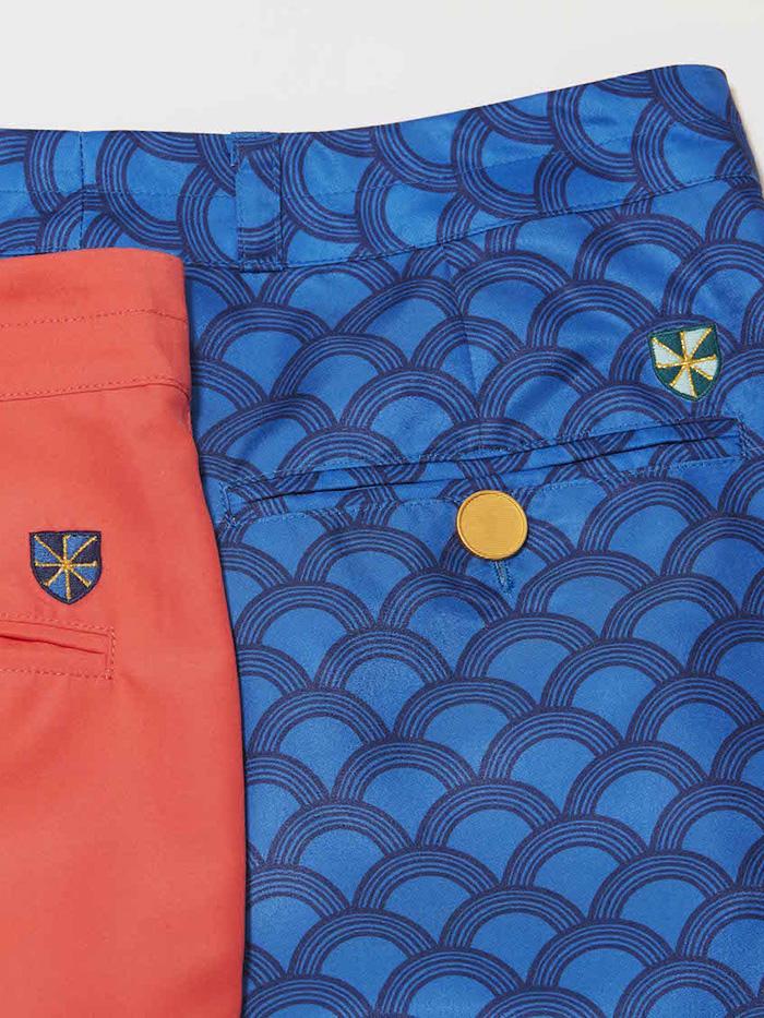 women's golf pants closeup