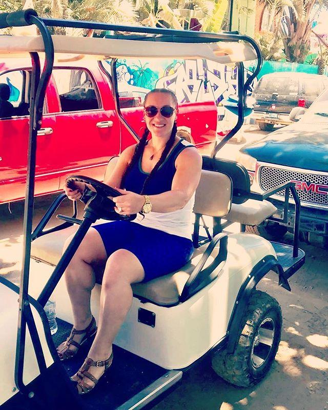 Cruising through the weekend... #resortstyle #megcampbellgolf