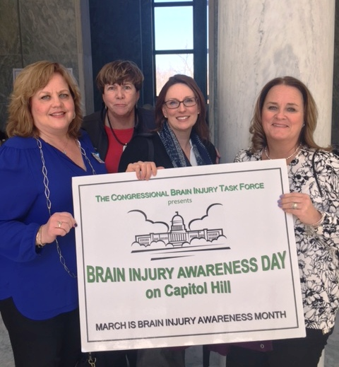 Sharon Murphy-Potts Remed, Elaine Flynn MossRehab, Karyn Kling MossRehab and Kristine Longo Bryn Mawr Rehabilation