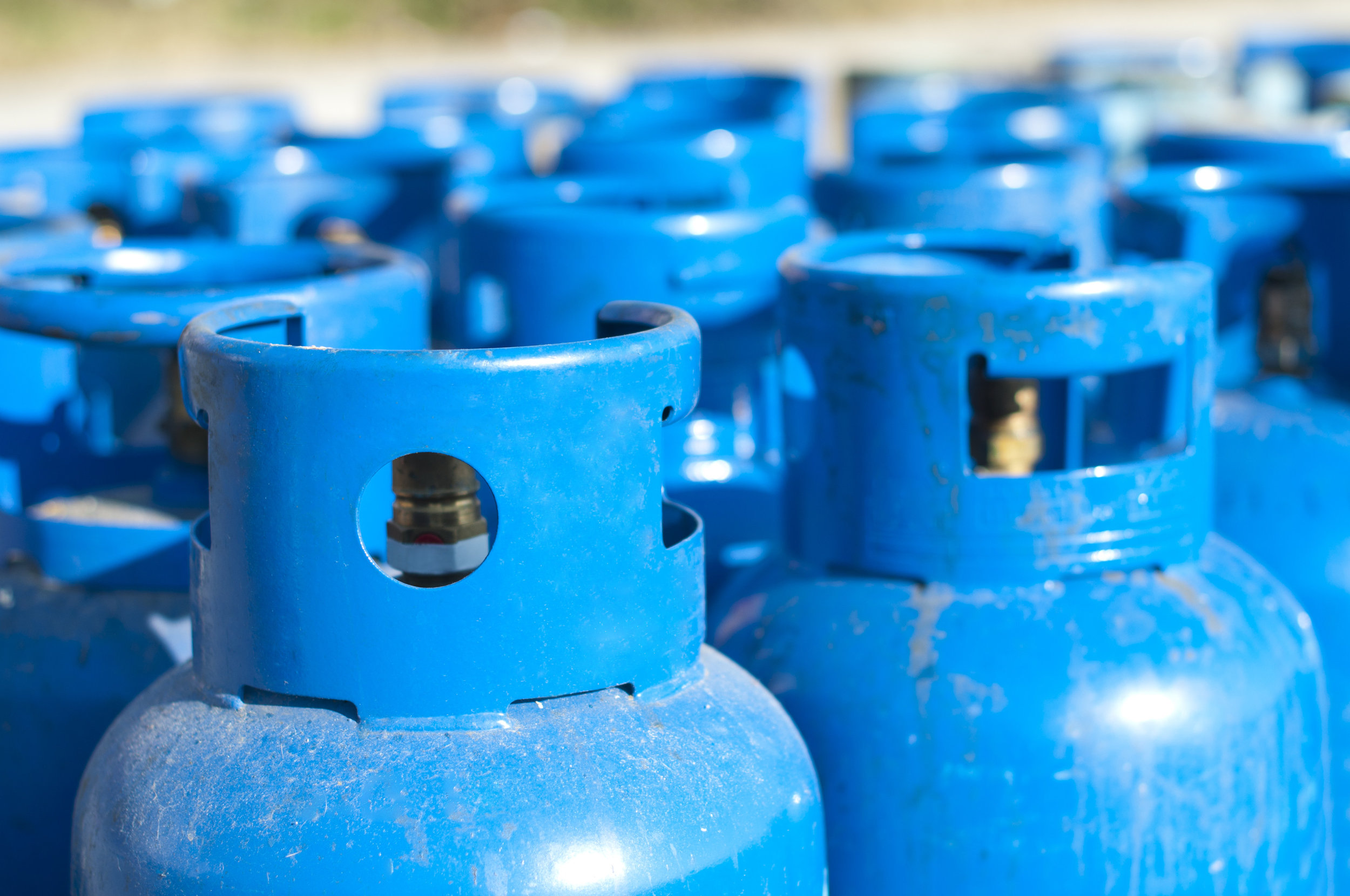 LPG cylinder and tank storage jcw saunders