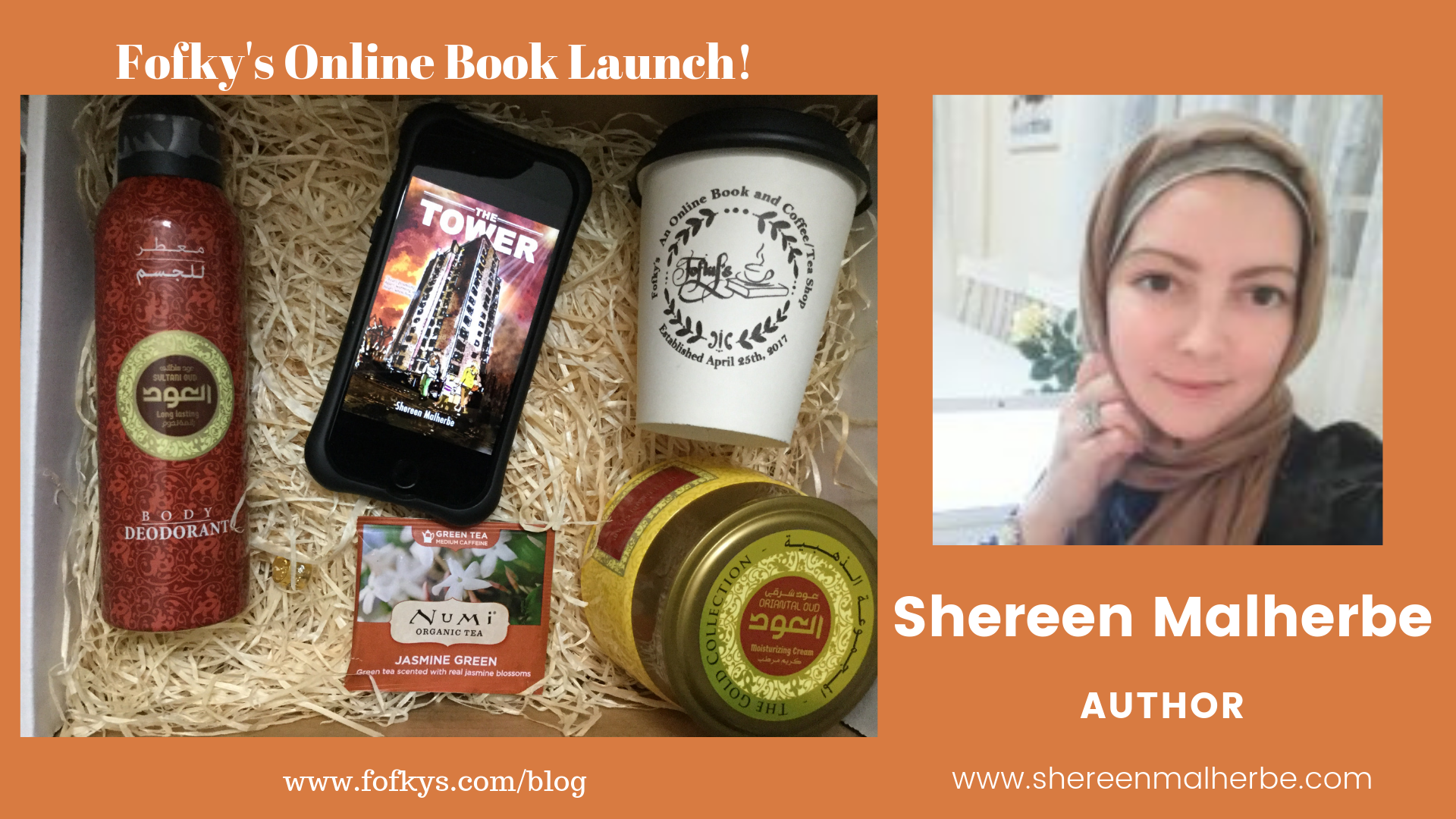 Shereen M fofkys banner the tower 4 10 19.png