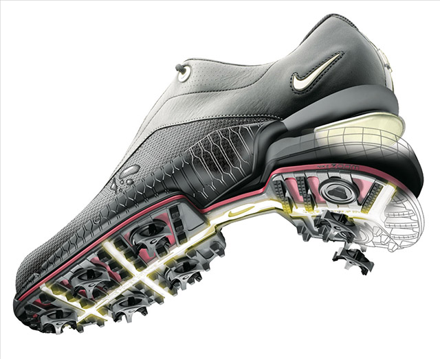 CGI Image for Nike Golf by TRG Reality.