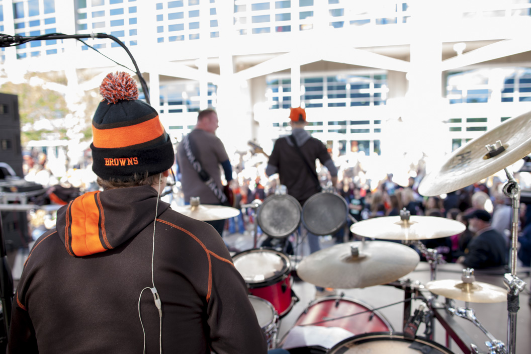 Day in the life of TRG at the Cleveland Browns game.