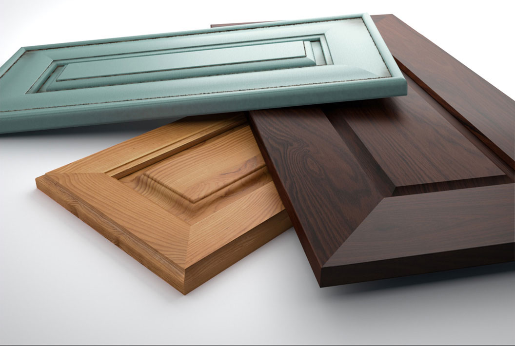 professional computer generated image of wood panes