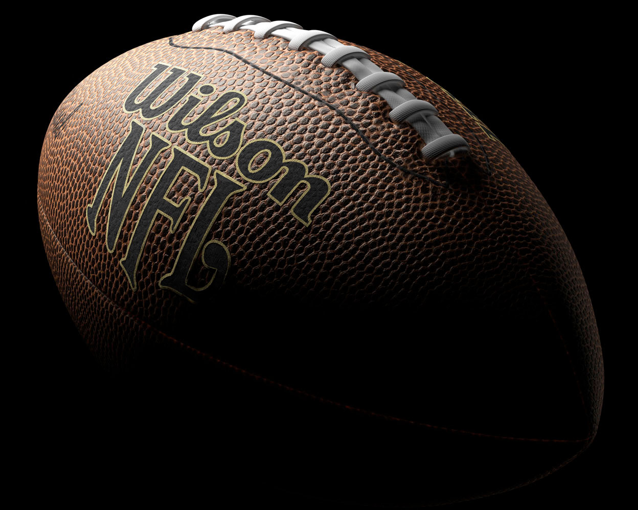 computer generated image photo of football