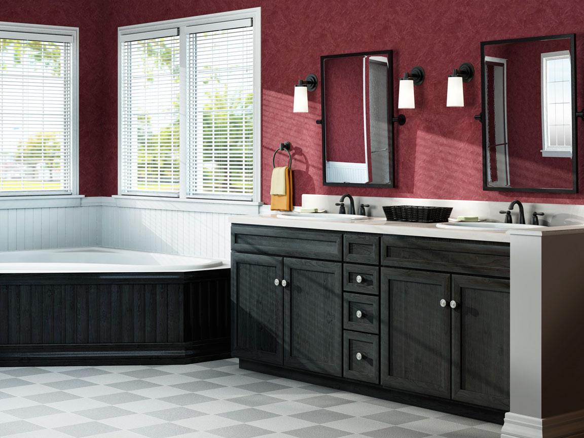 professional cgi image of bathroom
