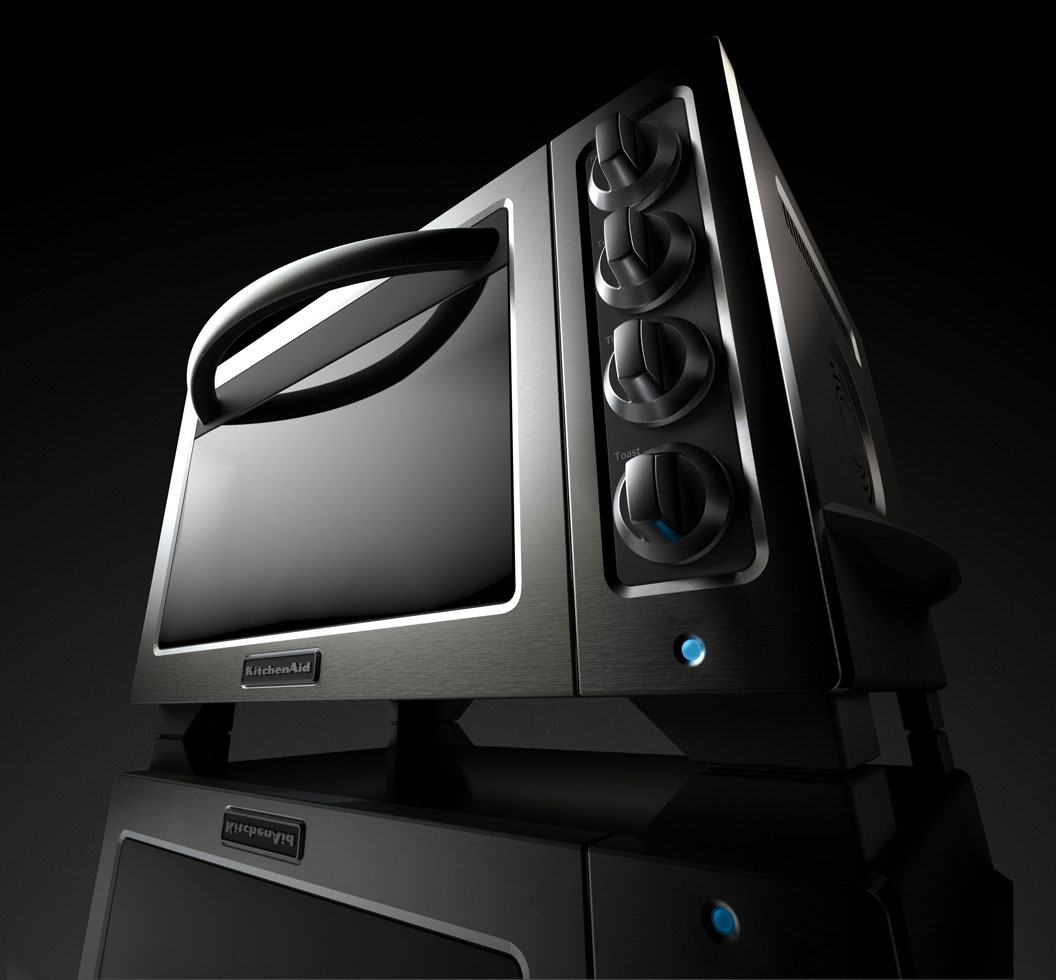 cgi photo of toaster oven