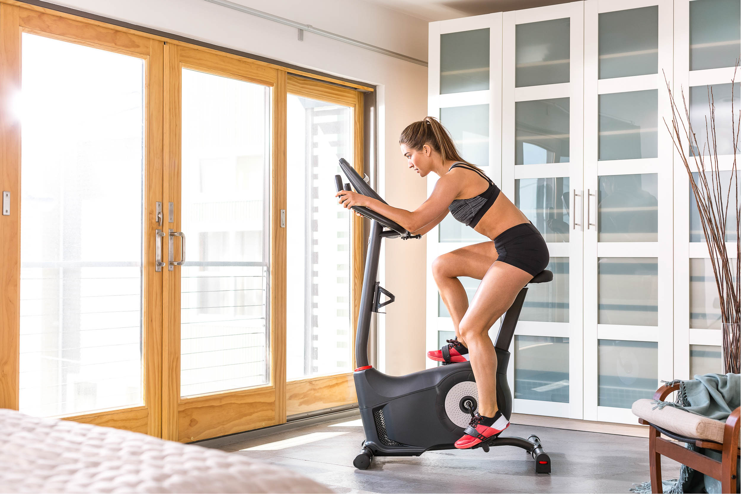 Image of Schwinn cardio equipment during a Cleveland photography project.