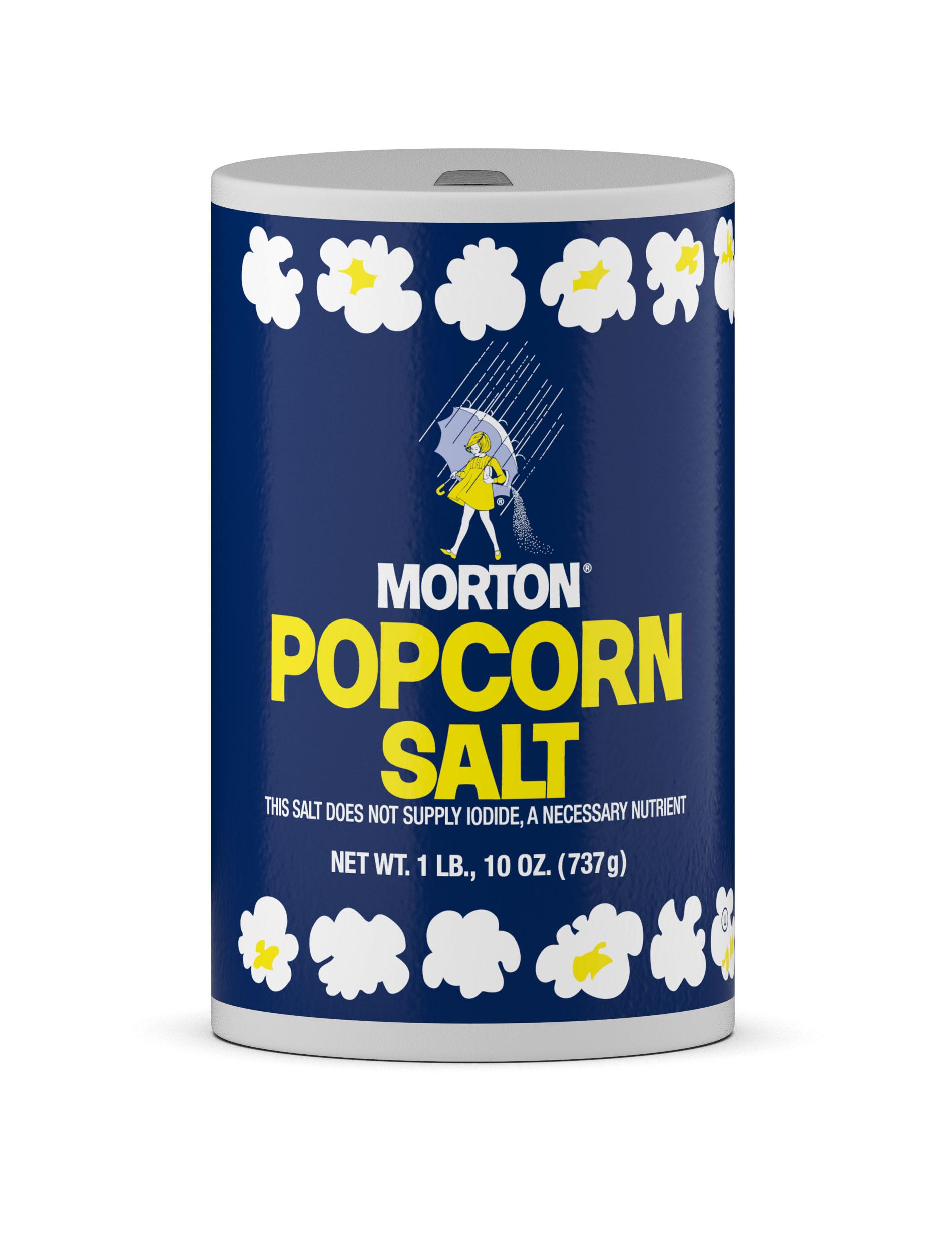 professional computer generated image of popcorn salt