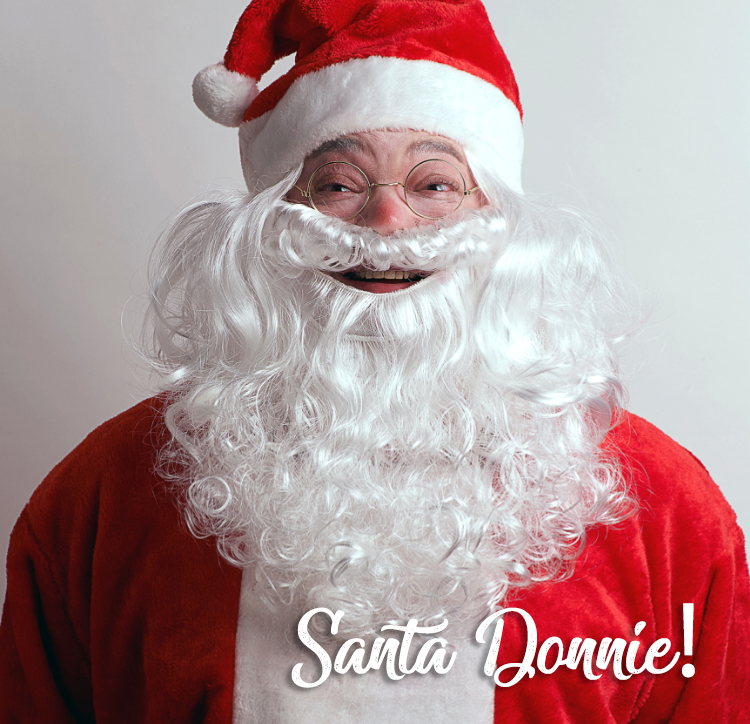 Santa Donnie Fisher - Account Executive