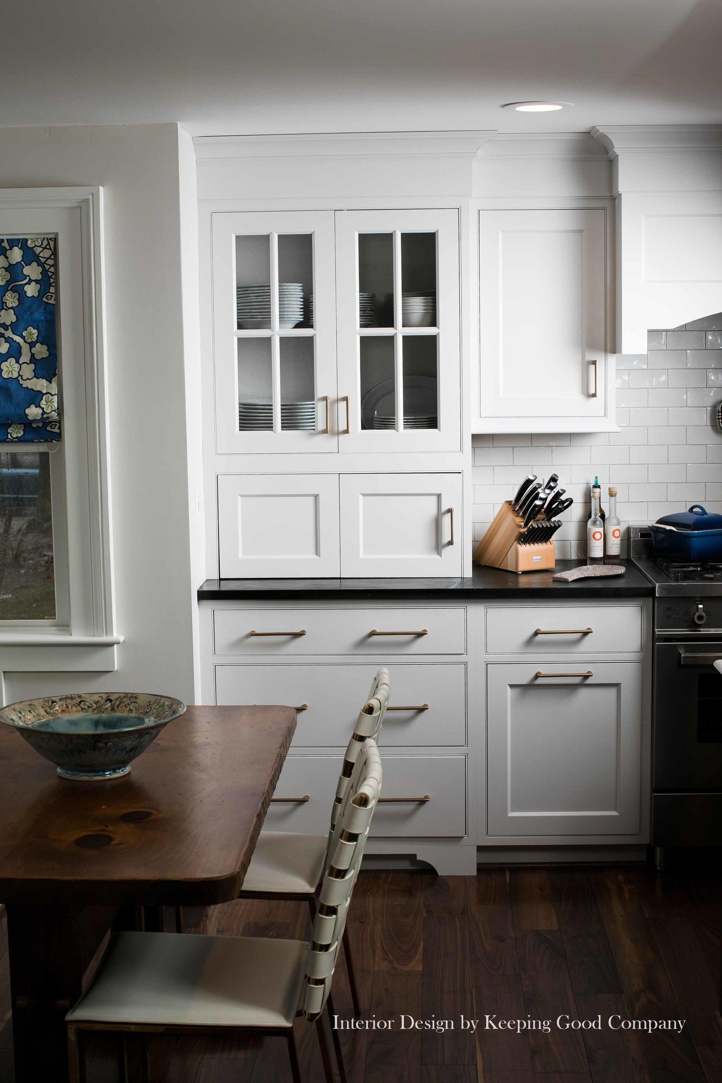 Appliance Garage Bi-folding Doors,Glass Mullion Cabinet Doors