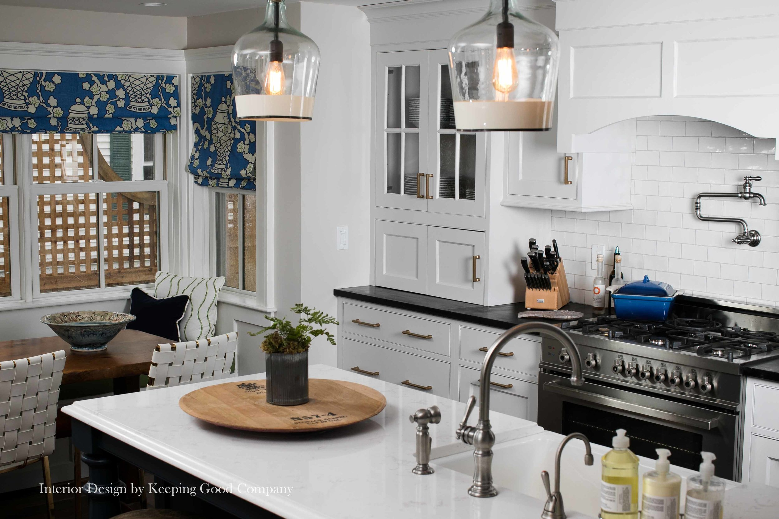 Plato Woodwork Prelude Cabinetry,Gray Mist Painted Cabinetry, Beaded Flush Style Cabinetry