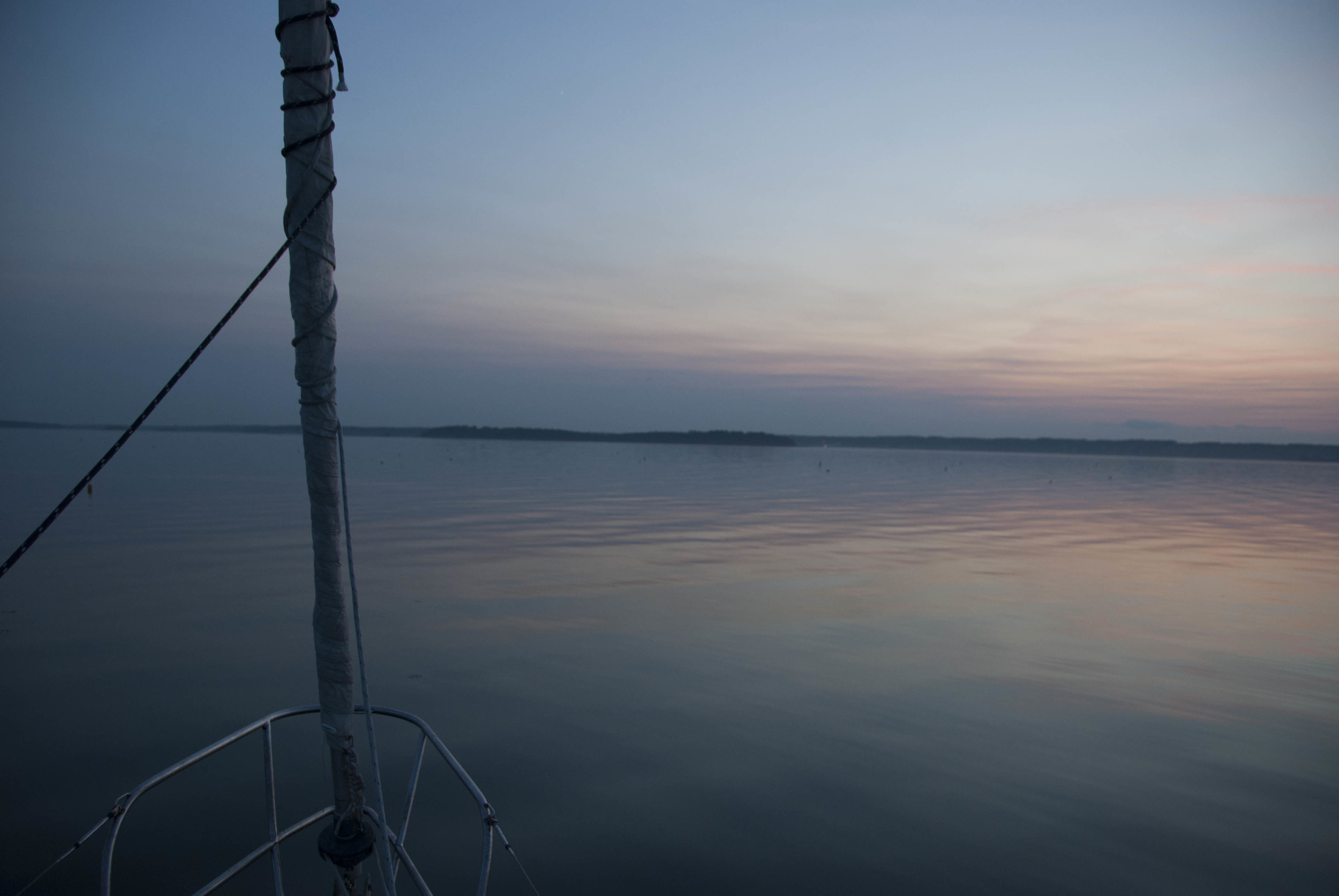 Photo Credit: Kerry Jacobs  Nomadic Anchored off the coast of Chebeague Island