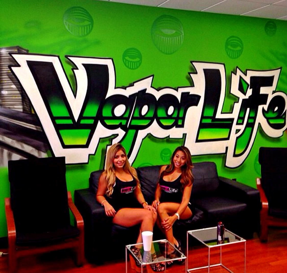 Vapor Life USA new location mural Downtown Miami, Fl