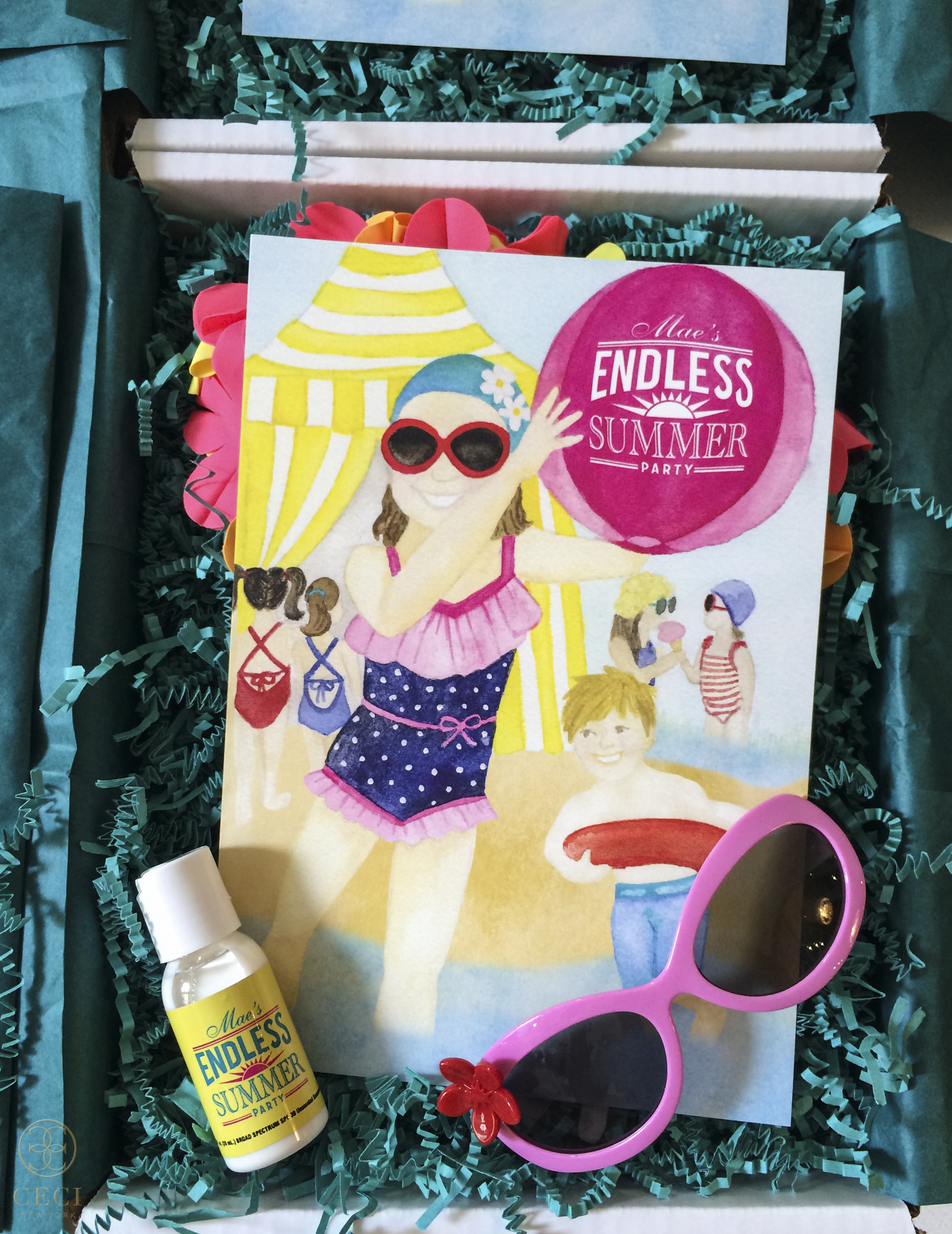 dallas_texas_birthday_party_mae_emily_clarke_events_kids_retro_pool_swim_endless_summer_invitations_ceci_new_york_watercolor_illustration_decor_design_boxes_favors-5.jpg