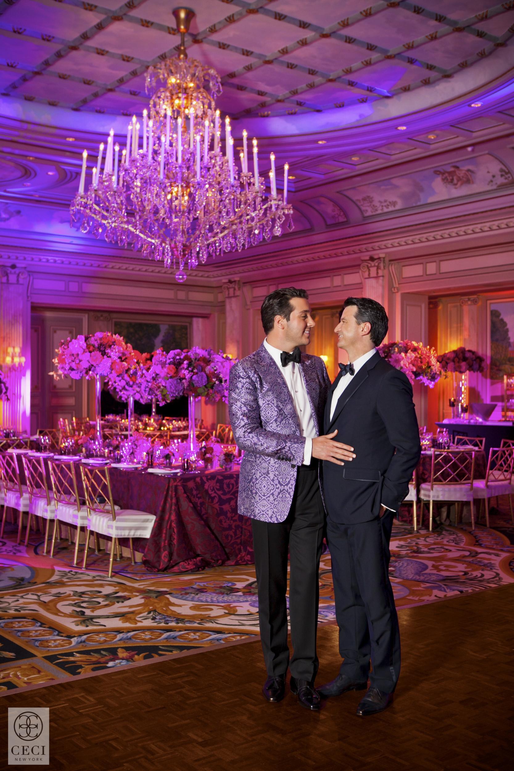 ceci_new_york_lucas_somoza_purple_regal_wediding_birthday_commitment_ceremony_gold-17.jpg